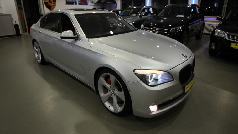 BMW 750i, Sport, Head-Up,360°Kamera, BMW Night Vision, el.GSD, NAVI Professional, Automatik, ACC Tempomat,Bi-Xenon,Leder-Massagesitze,Side und Lane Assistent, BMW Soft Close Türen,